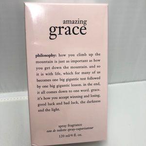 New philosophy amazing grace spray fragrance 4oz